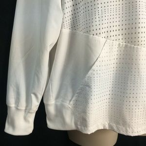 RBX Jackets & Coats - RBX White Hooded Athletic Zipper Jacket